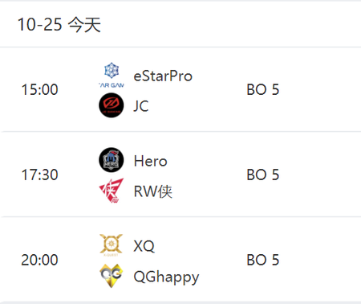 KPL秋季赛赛事前瞻:JC再度遇上eStarPro Hero、RW侠巅峰对决