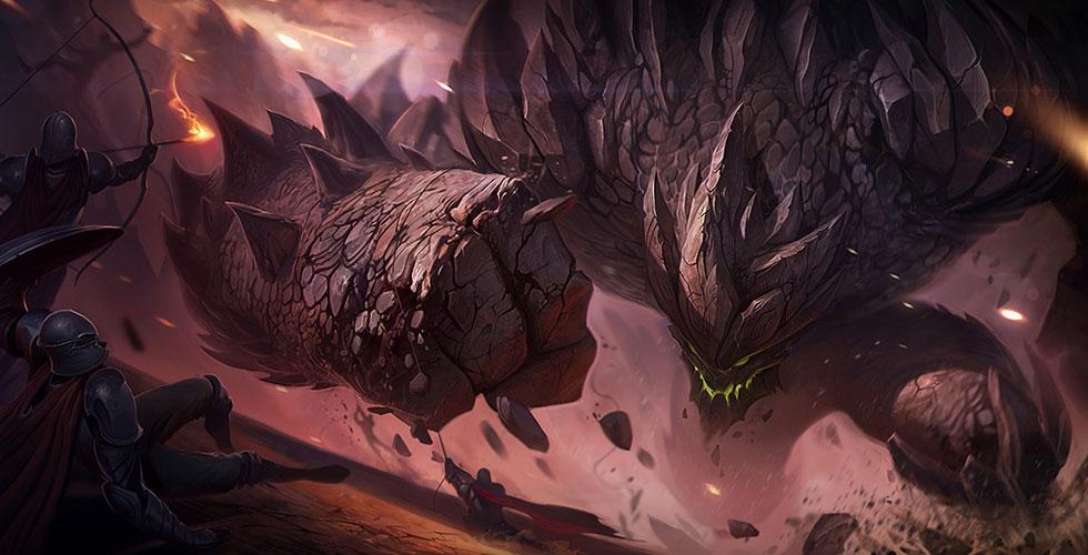 LOL熔岩巨兽墨菲特强攻流上单玩法_S8石头人符文天赋出装加点玩法攻略