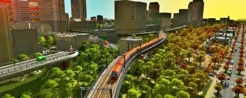 城市天际线公路与铁路交叉如何建造 城市天际线公路与铁路交叉建造方法