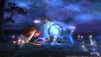 最终幻想14中2.3版本黑魔输出手法 FF14黑魔2.3输出技巧
