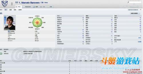 《足球经理2012》1M以下的冷门性价比球员推荐