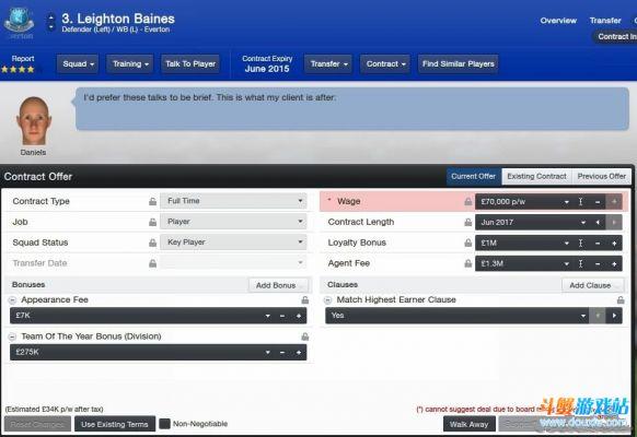 《足球经理2013》beta版球员签约及续约小Bug