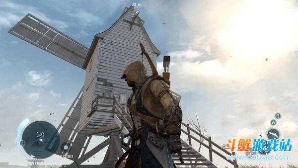 刺客信条3风车房屋上的羽毛入手方法