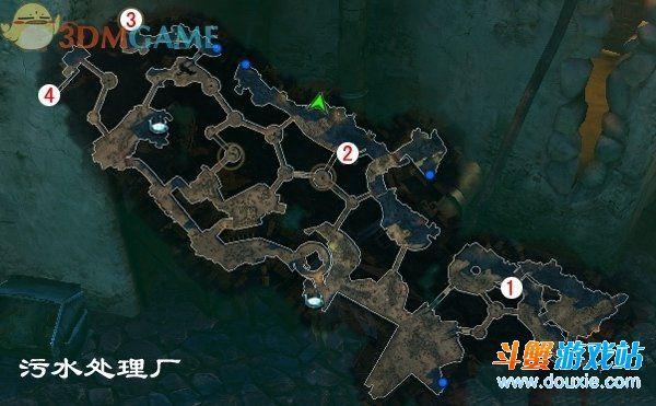 范海辛的惊奇之旅 全支线地图攻略之污水处理厂