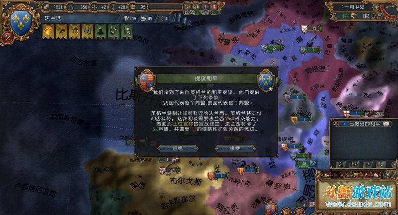 欧陆风云4各阶段战事应对策略