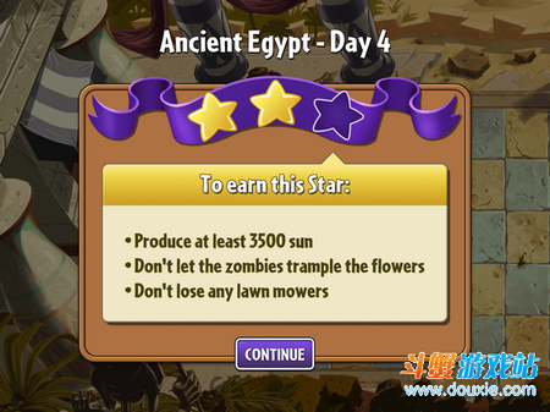 植物大战僵尸2攻略埃及关第四关图文全三星通关技巧