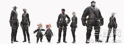 最终幻想14 种族介绍 有哪些种族