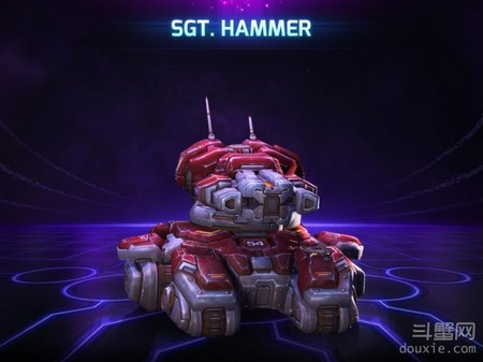 风暴英雄坦克中士Sgthammer介绍 英雄天赋介绍