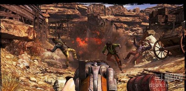 狂野西部枪手 枪支武器介绍 左轮散弹枪步枪