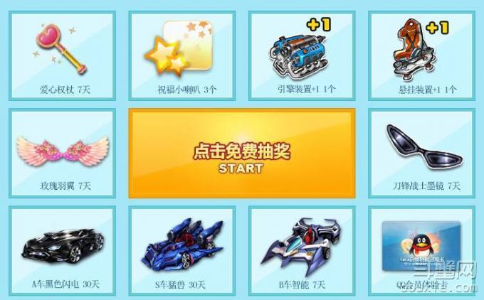 QQ飞车天天转播赢A车怎么参加 奖励是什么