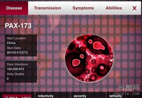 瘟疫公司进化版病原体初始属性数据分析汇总