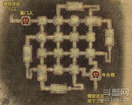 剑灵螺旋迷宫看门人在哪儿 看门人位置图片一览