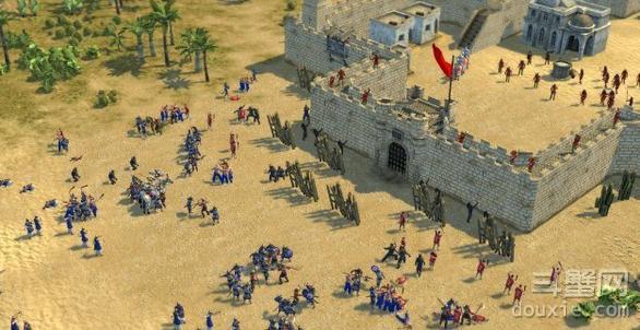 要塞十字军东征2怎么一波流 一波流打法介绍