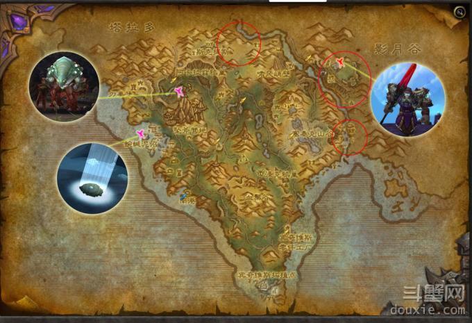 魔兽世界6.0阿兰卡峰林稀有精英在哪 阿兰卡峰林稀有分布一览