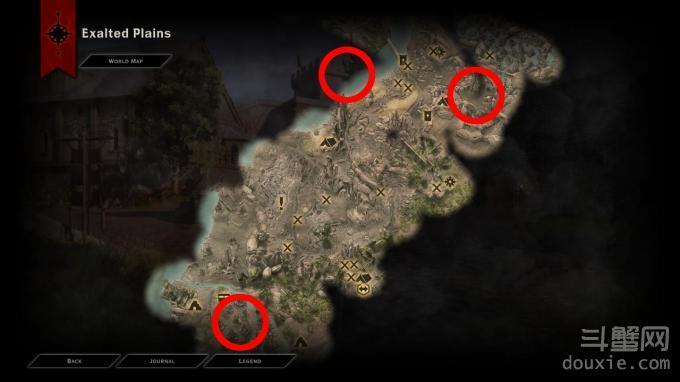 《龙腾世纪:审判》champion需要的三个heraldry怎么得,在那。