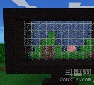 我的世界可显示画面的电视机怎么做方法介绍