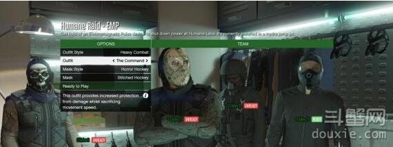 GTA5抢劫模式突袭人道研究实验室任务解析