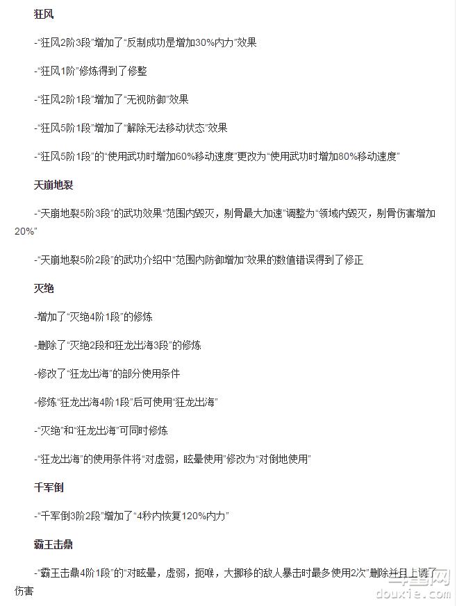 剑灵3月18日韩服力士改动说明 3月18日韩服力士改动详解