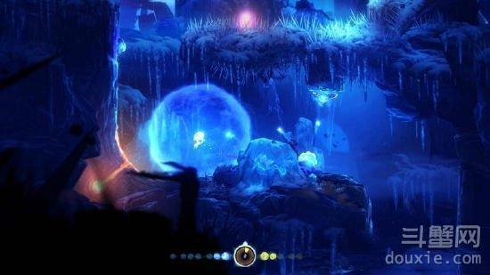 奥日与黑暗森林墙上蓄力跳怎么操作 蓄力跳使用方法介绍