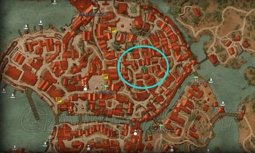 巫师3特丽丝在哪 特丽丝地图位置