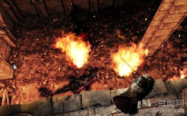 黑暗之魂2原罪学者人齿龙怎么打 人齿龙打法技巧详解