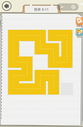 微信快来连方块简单5-11通关攻略