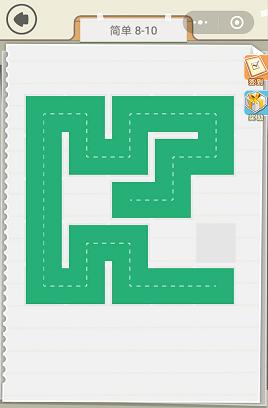 微信快来连方块简单8-10通关攻略