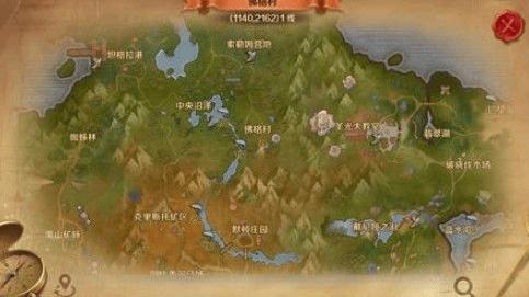 万王之王迷雾沼泽在哪 迷雾沼泽坐标位置介绍