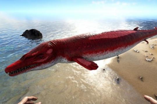 方舟生存进化龙王鲸驯服食物介绍