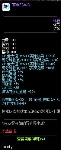 dnf2019五一称号属性详细介绍