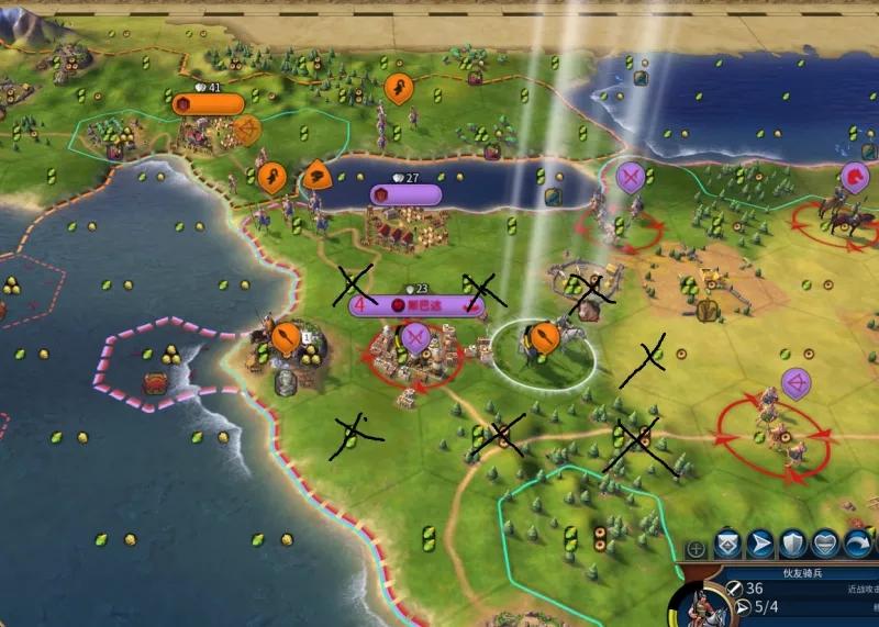 文明6攻城详细攻略