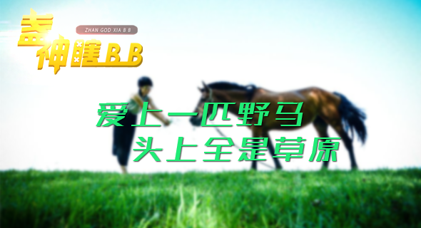盏神瞎BB:爱上一匹野马 头上全是草原