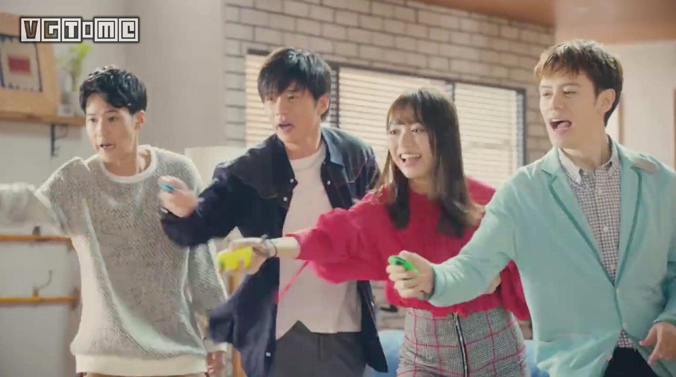 《超级马力欧聚会》电视广告:与内田理央一起玩耍吧