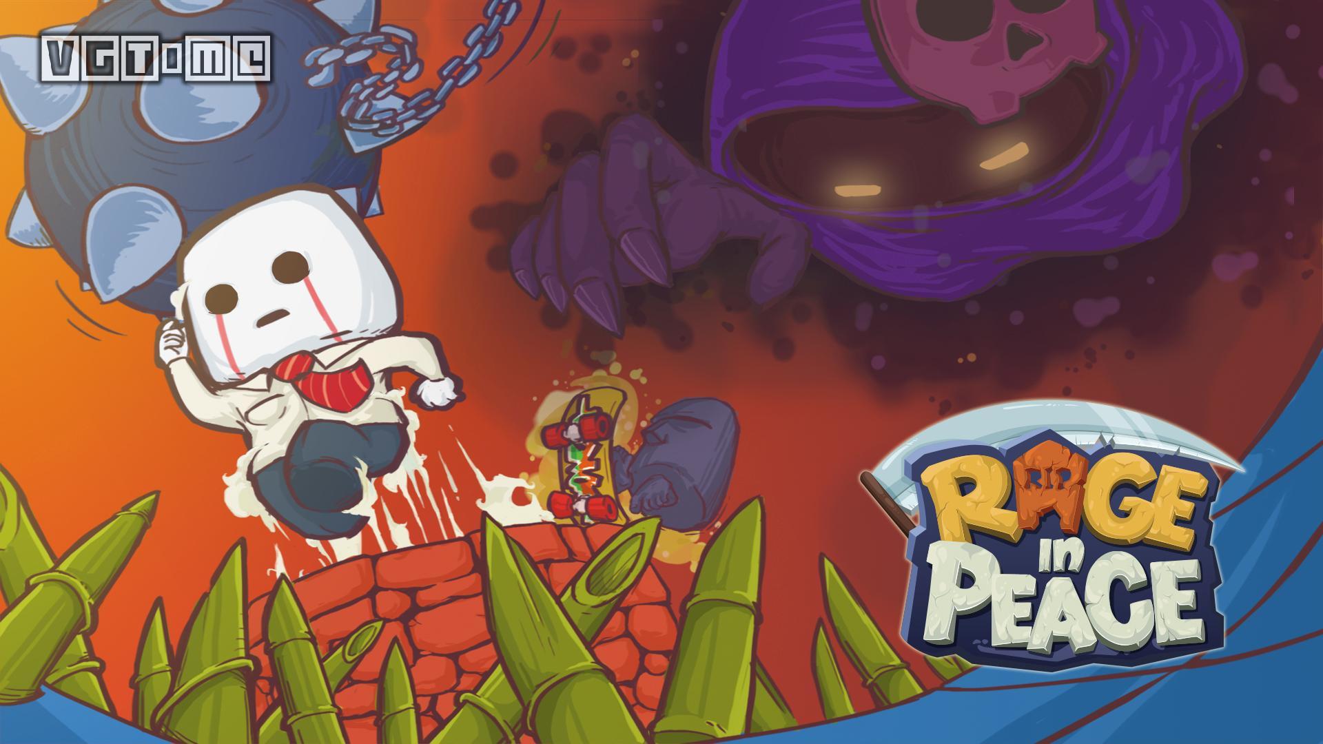 魔性横版冒险游戏《Rage in Peace》上线Steam和Switch_经典横版冒险游戏