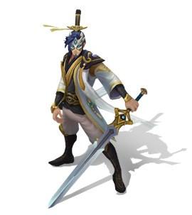 玉剑传说国风炫彩 剑圣化身黑衣大侠