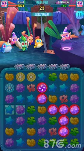 3D萌宠对战新玩法 《深海奇缘消消乐》手游深度评测_萌宠3D