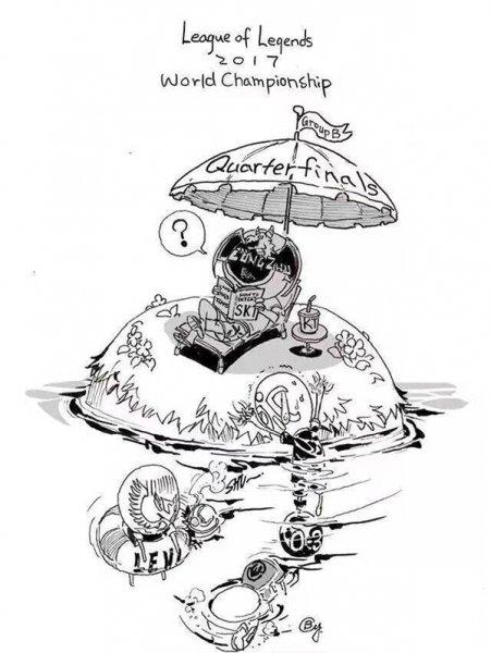 S7武汉站出线漫画 玩家完美呈现赛程