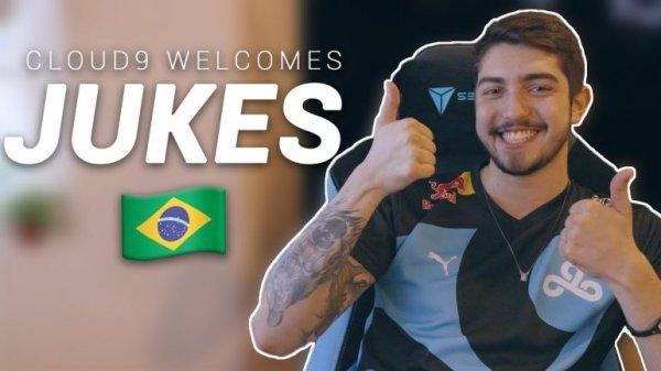 C9签约巴西主播Jukes 成为新上路选手