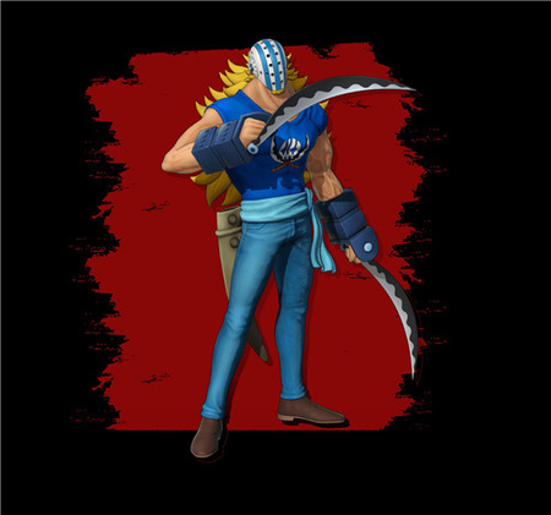 《海贼无双4》DLC角色基拉截图 杀戮武士高速攻击